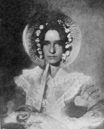 Dorothy_Catherine_Draper_earliest surviving photo of a woman