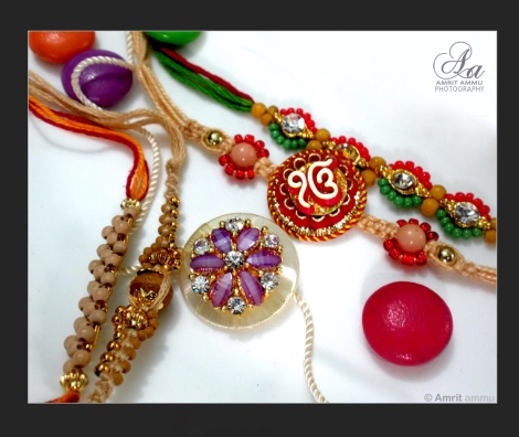 Rakhi with logo