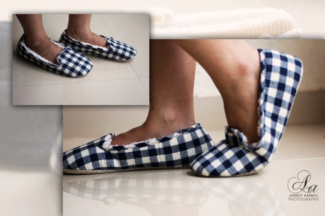 Dearfoams_Checkered booties
